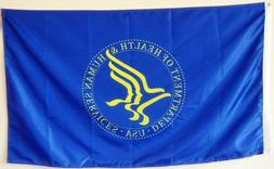 Fyon Department of Health and Human Services banner flag 3x5