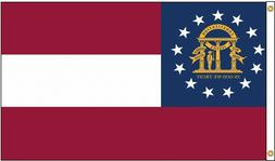 GEORGIA 3x5ft STATE FLAG weather resistant us seller super p