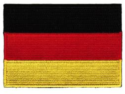 Germany Flag Embroidered Patch German Iron-On National Emble