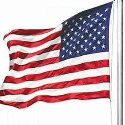ANLEY  American US Flag 4x6 Foot Nylon - Embroidered Stars a