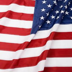 Anley EverStrong American US Flag Heavy Duty Nylon - Embroid