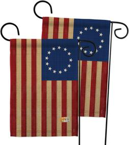Heritage Betsy Ross- Decorative 2 pcs Garden Flags Pack GP19