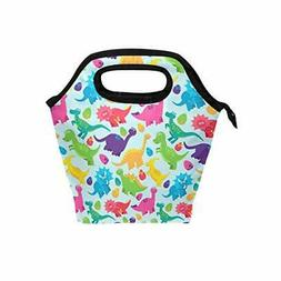 ALAZA Insulated Lunch Bag Freezable Lunch Box for Kids Women