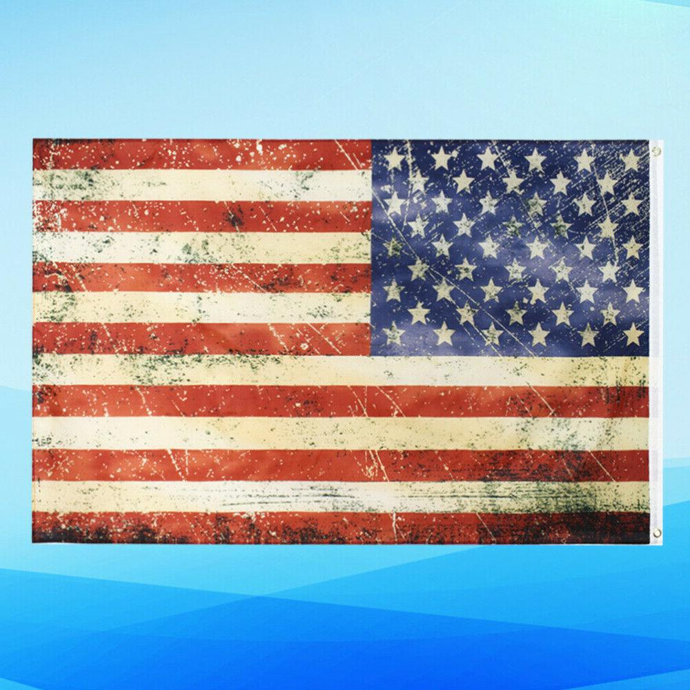1Pc American Home Holiday Flag