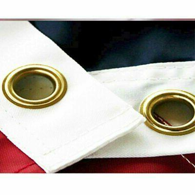 3' 5' USA US American Flag Polyester Grommets