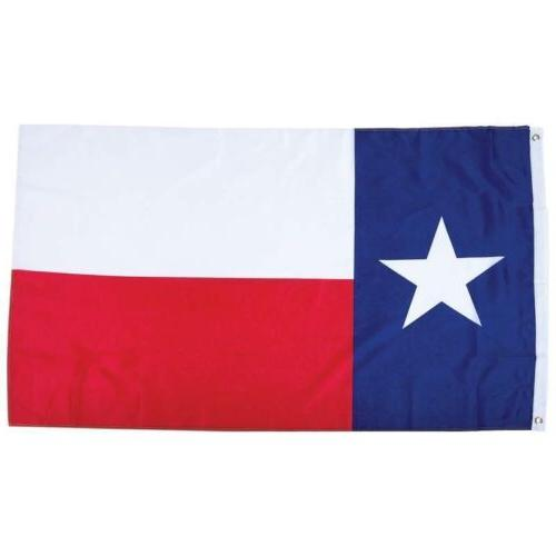 TEXAS STATE FLAG  3x5 Foot Polyester Lone Star TX USA Banner