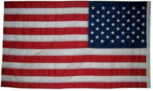 """3x5 FT US AMERICAN """"Embroidered Stars"""