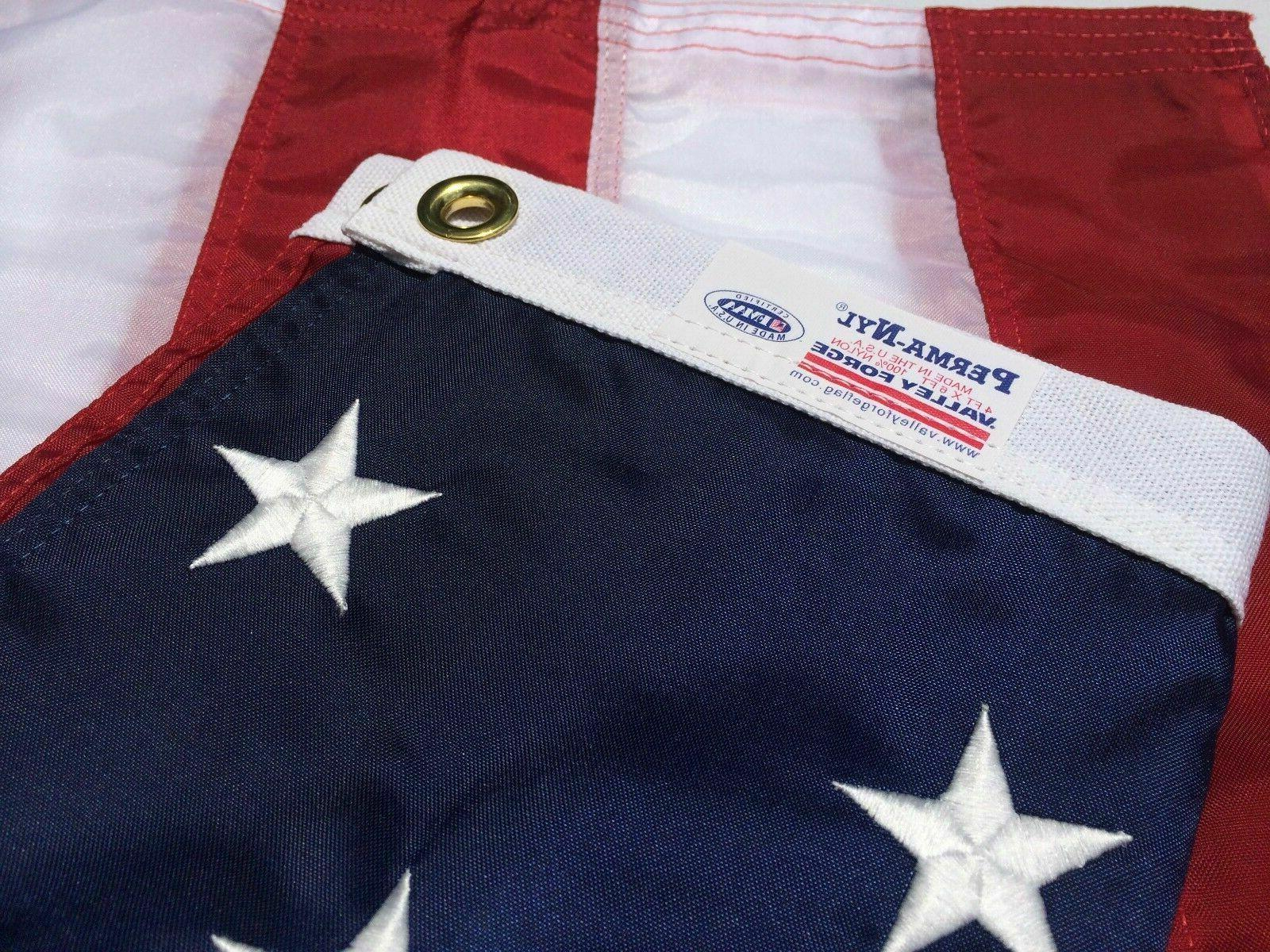 3x5 ft us nylon american flag embroidered