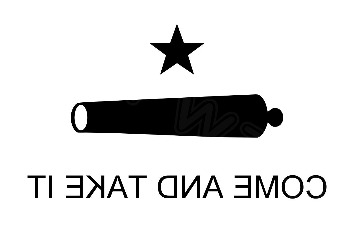 3x5 Come Take Cannon Flag 3'x5' grommets