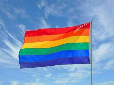 3x5FT Rainbow Flag Banner Lesbian Love Equal