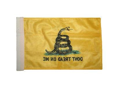"8""x12"" on Boat Motorcycle Car Double Sided Flag"