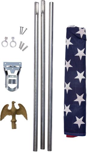 American 3 x 6-foot 1-inch Steel and