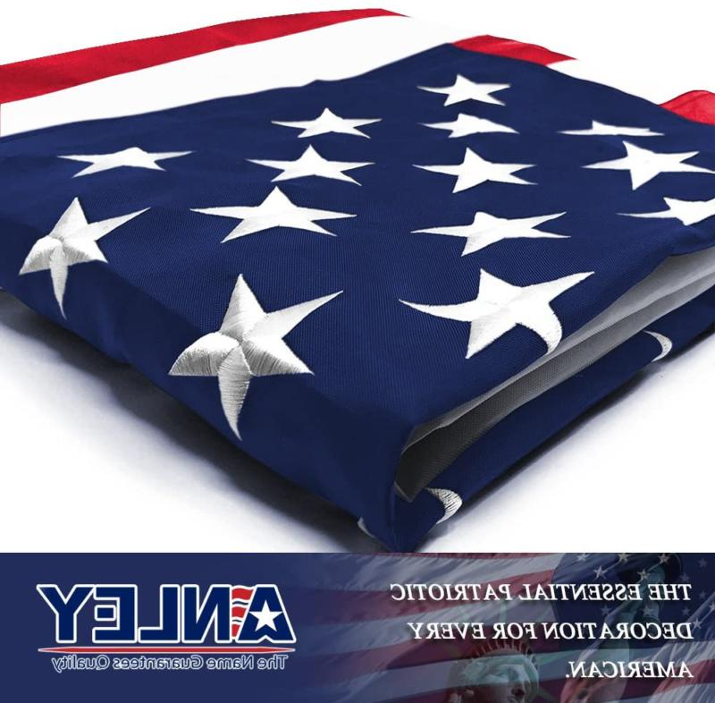 Anley Everstrong Series American Us Foot Embroidered