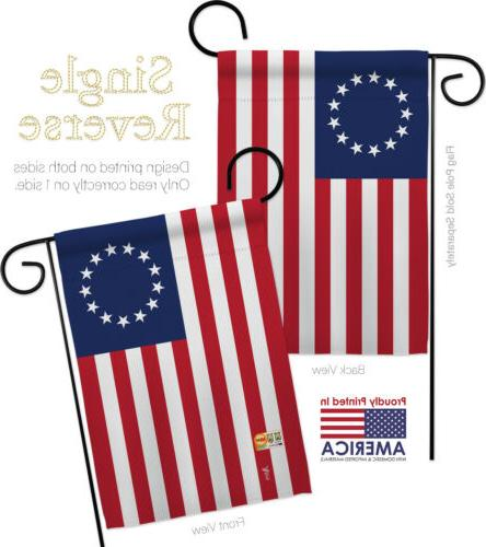 Betsy Decorative 2 Flags