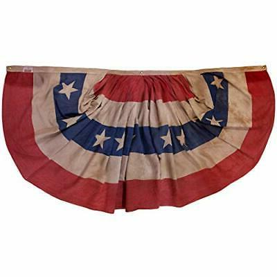Valley Cotton, 3' x united flag