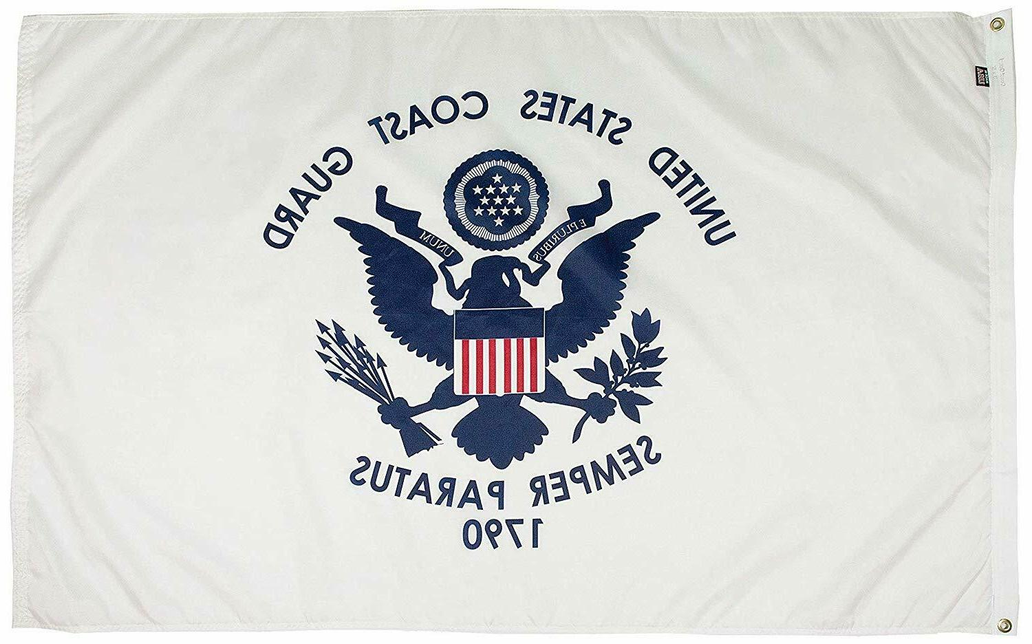 Coast Flag United Paratus Banner 1790 US Veteran