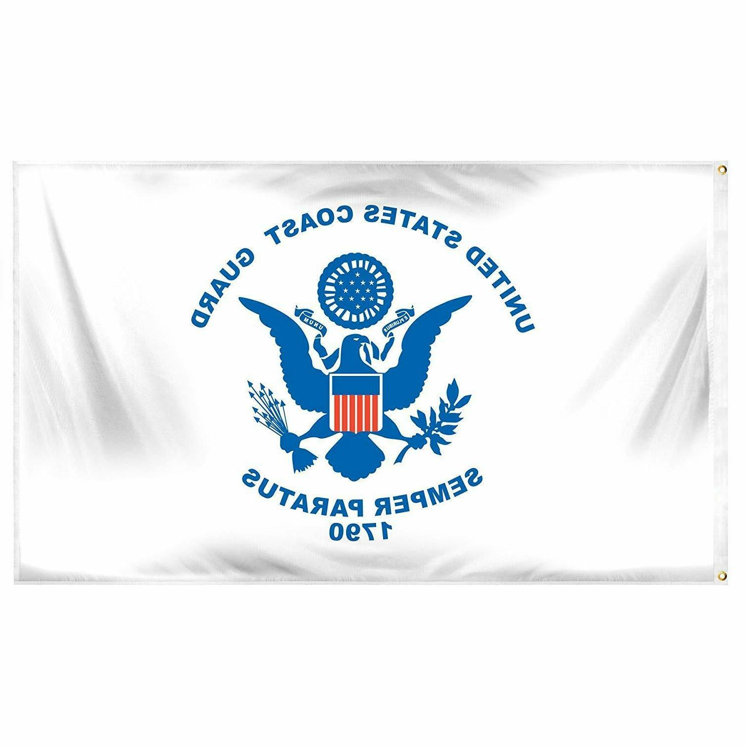 Coast Guard United Semper Paratus Banner 1790 Seal Veteran