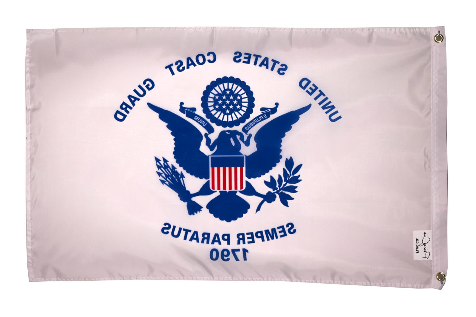 coast guard 2x3ft flag united states semper