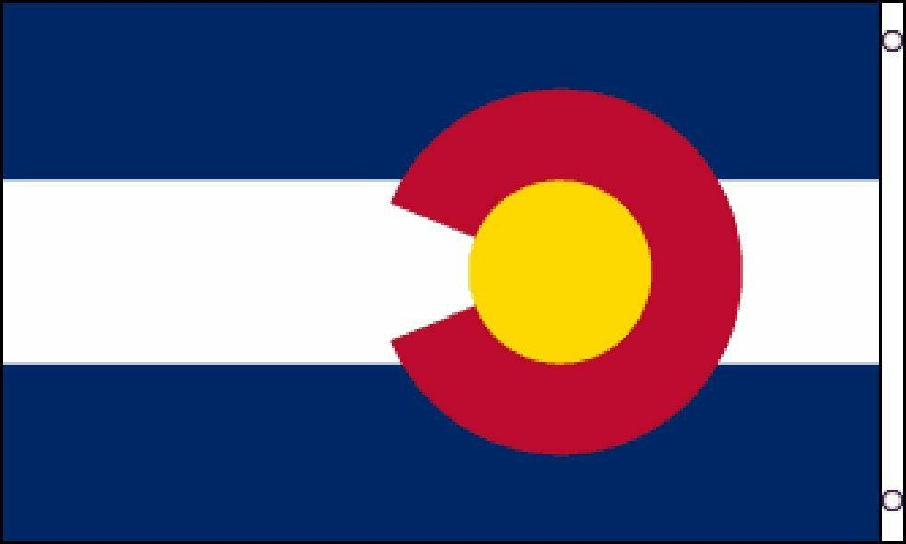 PringCor Colorado 2x3ft Polyester Banner State of CO Aspen