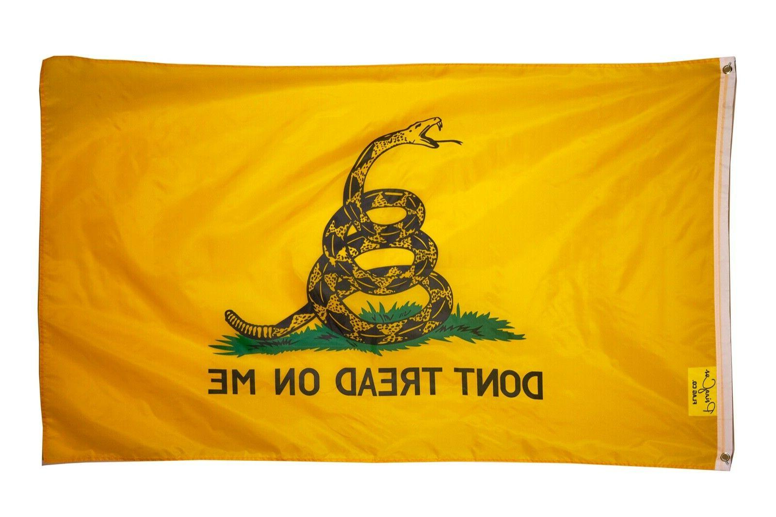 don t tread on me 3x5ft flag
