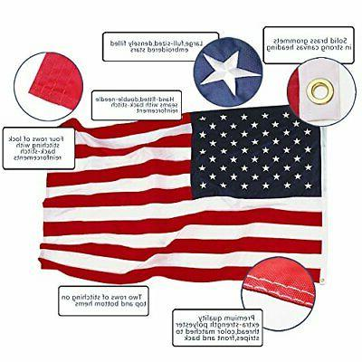 EverStrong US Flag Foot Duty - Star