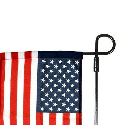 us yard iron flag pole stand outdoor
