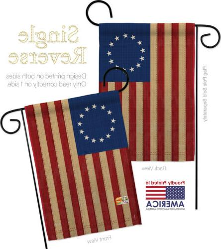 Heritage Betsy Ross- Decorative 2 Garden Pack GP192174-P3AE