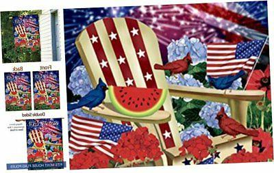 morigins bless the usa patriotic pansies double