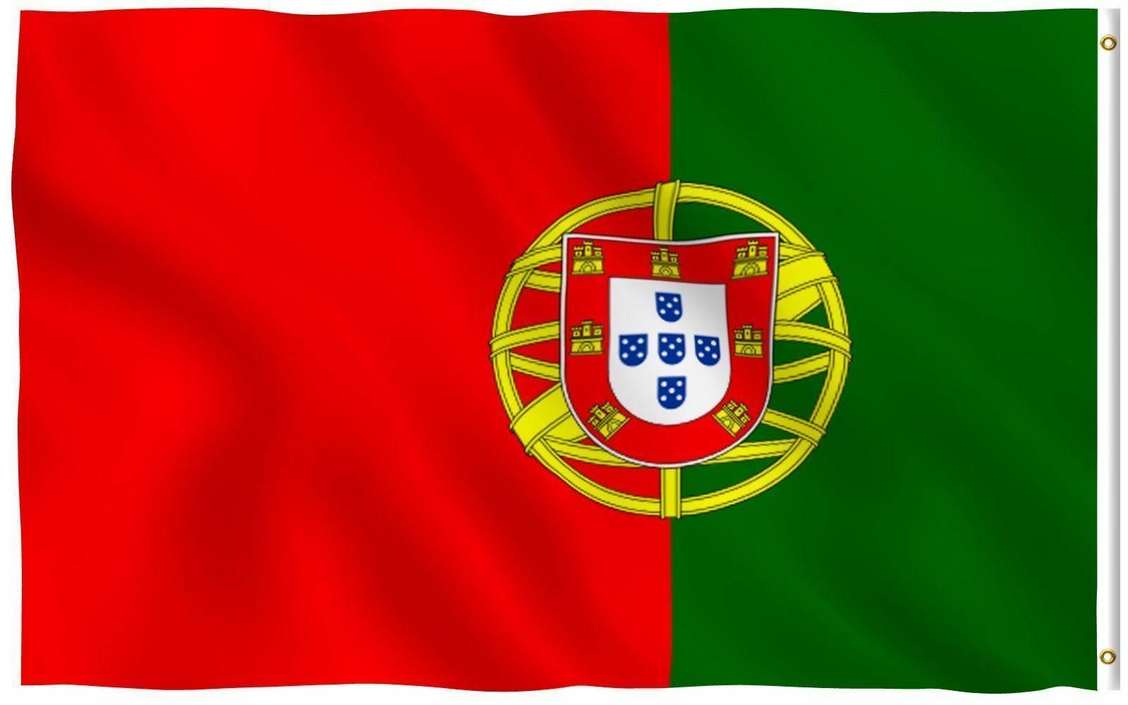 portugal state flag portuguese republic banner polyester