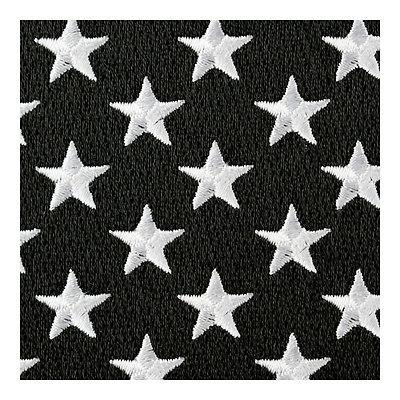Reflective Black Grey Flag Patches