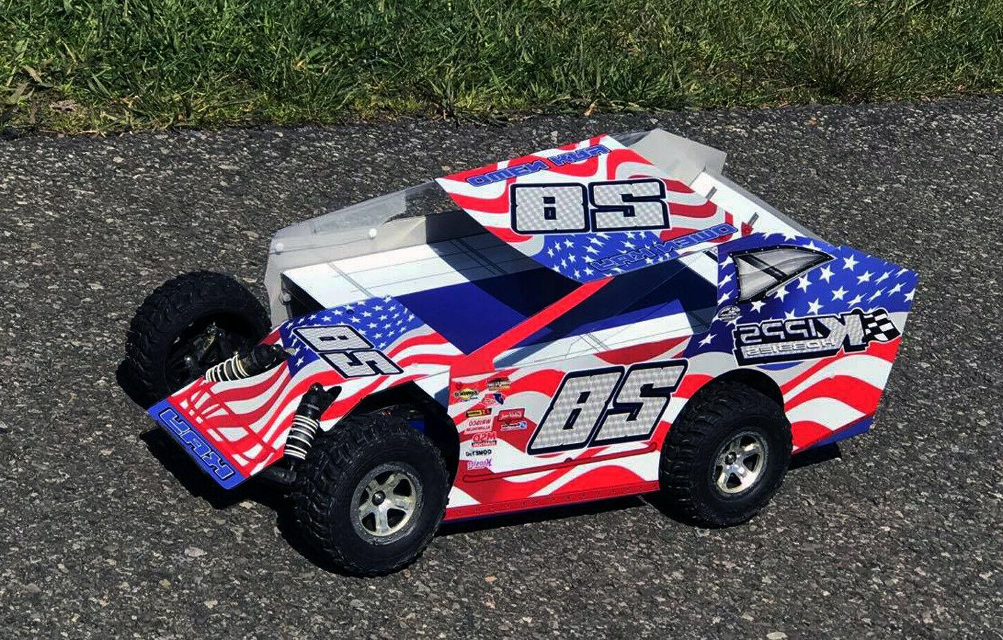 SALVAS MUDBOSS TRAXXAS AMERICAN KIT