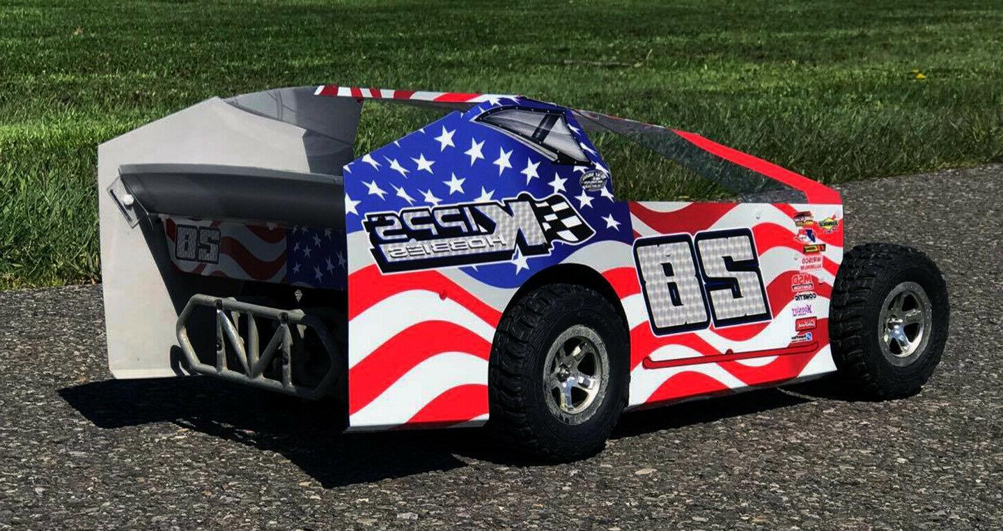 SALVAS MUDBOSS SLASH AMERICAN FLAG KIT
