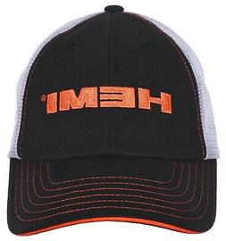 Checkered Flag Men's Hemi Cap Adjustable Hemi Black White Me