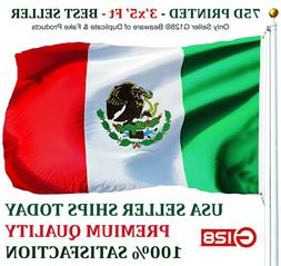 3x5 Mexico Flag Mexican Banner Pennant Bandera New Indoor Ou
