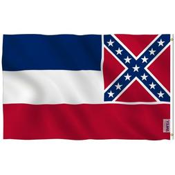Anley Fly Breeze 3x5 Foot Mississippi State Polyester Flag M