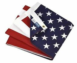 Annin Flagmakers Model 19417 Poly/Cotton American Flag, 3x5