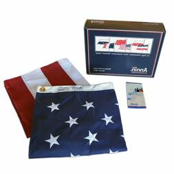 Annin Flagmakers Model 2710 American Flag - USA MADE Strong!