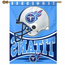 NEW $25 Tennessee Titans Wincraft NFL 27x37 Banner Vertical
