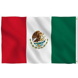 New 3'x5' Polyester MEXICO FLAG Mexican Country Soccer O