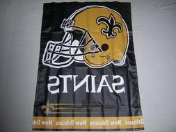 NEW ORLEANS SAINTS WINCRAFT 27X37 pole flag superior qlty NF
