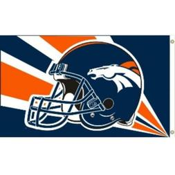 NFL Denver team colors logo Broncos Fan Shop Sport Patio Law