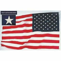 TOUGH-TEX 1672 US Flag,12x18 Ft,Polyester