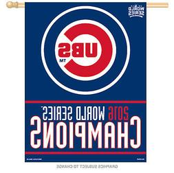Official 2016 MLB World Series Champions Chicago Cubs Logo V