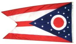 Ohio State Flag 3' x 5', 100% Nylon, Annin Flag