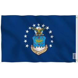 Anley Fly Breeze 3x5 Foot US Air Force Flag Air Force Milita