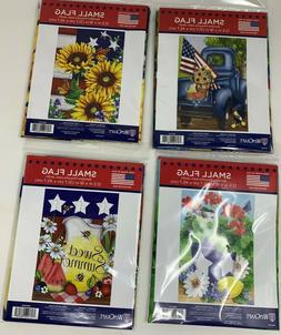 patriotic small garden flags several to choose