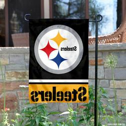 WinCraft Pittsburgh Steelers Double Sided Garden Flag