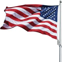 Eder Flag Poly-Max US Flag Outdoor High Wind Durable Embroid