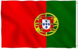 Portugal State Flag Portuguese Republic Banner Polyester 3x5