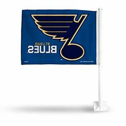 Rico NHL Blues Car Flag Sports Fan Automotive Flags, Multico